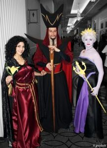 And they seem to get along together. Then again, Gothel isn't over dominating the world. But Jafar and Ursula, I'm not sure.
