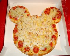 I think this might've come from some pizzeria that makes them. Maybe at the Disney parks. But this looks doable.