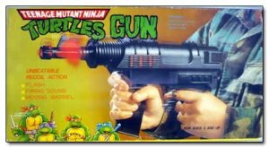 Do the Ninja Turtles even use guns? They seem to be more into martial arts and daggers to me.