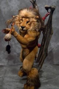 Then again, he might be some kind of chimera if my mythology is right. Probably one that lacks horns.