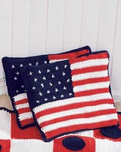 Or pillowcases if I'm wrong. Either way, they'll bring out the American spirit on your couch.