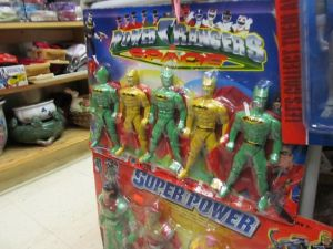 I'm sorry but the Power Rangers don't look like that. These are Batman figures in yellow and green. Seriously, why?