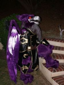 Now I know what this fantasy creature is supposed to be. Wouldn't want to mess with him though.