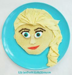 Sure she may be an icy snow queen. But this pancake breakfast doesn't have to.