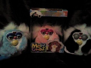 "Guess ""Mog Gwai"" means in another language ""Furbies that are legitimately creepy."" Seems like these will not make your day."