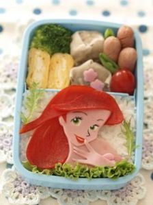 Ariel may not be one of my favorite Disney Princesses for obvious reasons. But they really got this lunch in her likeness.