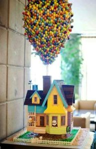 Actually it's not. But this is a great cake of the house from Up. Like how it looks raised.
