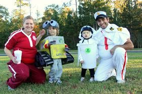 Well, the space station gives us a sad commentary on our culture. But this seems kind of cute costume wise.