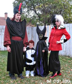 Here we have Jafar, Curella, Maleficent, and Syndrome. And yes, everyone in the clan looks very evil.