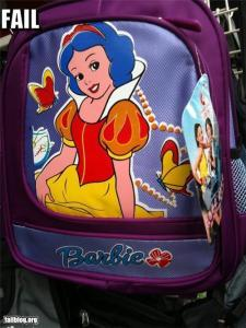 Uh, that's not Barbie. That's Snow White. Whole different franchise.