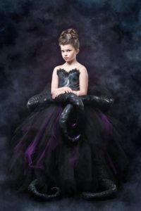 Then again, a tutu skirt would be perfect for Ursula. Because she is part octopus as we know.