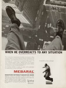 However, I want to know why they'd use an image of a guy about to jump off a building. Because that looks pretty scary. And I think that guy might need an undertaker at this point.