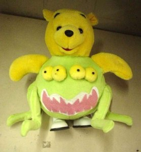 As long as Pooh's arms and head aren't attached to some nightmarish monster. Seems like Pooh took part in some crazy mad scientist experiment gone horribly wrong.