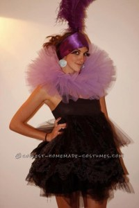 May not be over the top, but it's quite clever. Even if this costume is mostly made from tulle.