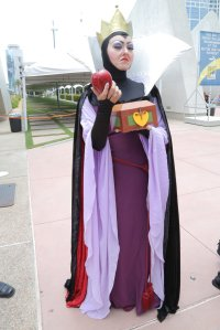 And both will be used on Snow White, her stepdaughter. The Evil Queen can be quite nasty as you see.