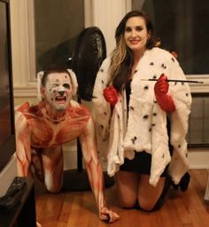 Okay, this is kind of sick. Seriously, this is demented. But pretty creative since you don't see costumes like that.
