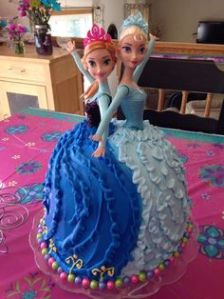 Since it has Anna and Elsa on them. After all, Frozen is the kind of story depicting sisterly love.
