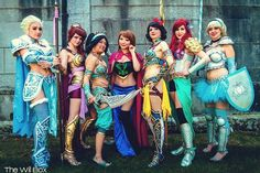 Because these are warrior Disney Princesses. And they have the guts to save themselves.