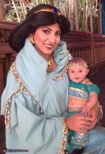 Mostly because Jasmine is the only female character in Aladdin. Yet, this mother and daughter moment is too much.