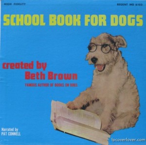 Uh, dogs don't go to school unless if it's for service or obedience. Also, I don't think dogs read either. Ridiculous.