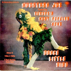 Then again, given the outlandish songs at costumes at Eurovision, I wouldn't be surprised if someone performed this song in such a costume. Also, seems more like a funky chicken to me.
