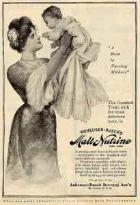 Because only in the Gilded Age could you sell such beer as a health tonic to nursing mothers. Yes, you got that right.