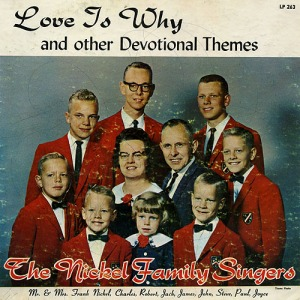 For some reason, the people's heads in this seem photoshopped to their bodies. Also, the kids seem like they're straight out of the Village of the Damned wearing red suits. Bound to give anyone nightmares.