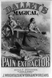 Because how else was Molly Pitcher able to man her husband's cannon at the Battle of Monmouth? Because she had to be under a lot of stress at the time.