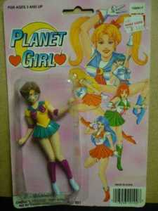 Yes, this is from Sailor Moon. But while the Planet Girl looks anime, the Sailor Sensei on the packaging don't.