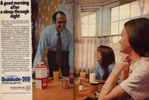 Quaaludes: the drugs that people got high on in The Wolf of Wall Street. Also used as Bill Cosby's rape drug of choice during the 1970s. Oh, and it was said Elvis was on them, too.