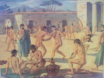 The Greeks Played Naked for the Sake of Beauty
