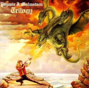 Uh, does he have any idea that the dragon is burning up his guitar? Perhaps it's not a magical object after all.