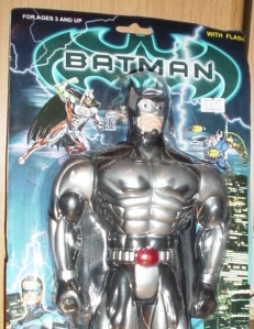 This is more of a combination of Batman and Robo Cop. Not sure if I can get used to Batman as a cyborg.