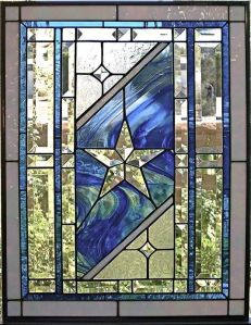 Yes, you're going to see more like these, too. Love the glass star and the blue swirls.