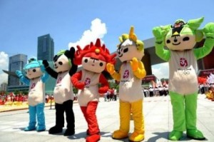 Okay, they're quite cute. But they also give me creepy vibes once you realize these are Olympic mascots for a polluted and oligarchic state. Yeah, I haven't forgotten about that.