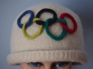 This is probably from a winter Olympics, most likely Toronto's. Still, I'd wear it if I could.