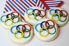These cookies use icing rings that were delicately applied. Nevertheless, they're quite lovely.