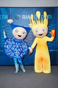 I guess their design was based on characters from a nightmarish Russian children's show. Because to have them as Parlympic mascots is a great disservice for the disabled. Seriously, take them away!
