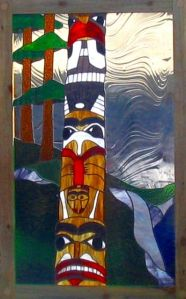 Because the totem pole on this is a dead giveaway. Because it's from the Northwest Coast.