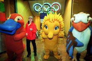 "From SB Nation: ""G'DAY! Pleased to meet you, Bruce! We're a kookaburra, a platypus and an unnecessarily sexualized, anthropomorphic echidna! Not sure why we had to make her sexy, but we did anyway! You're welcome. The 2000 Sydney Olympics: pandering to the lucrative furry demographic before it was hip. (It's hip now, right?)"""