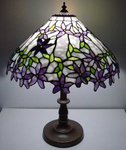 Now this is an example of what you might see in a Tiffany lamp. However, I'm not completely sure if this is one. But I have a good idea.