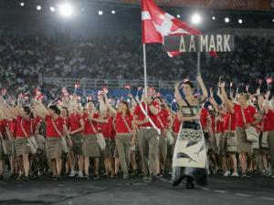 No, these aren't Boy and Girl Scouts. These are Danish athletes. But I understand if you don't know the difference.