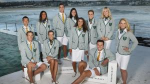 These people seem like they're dressed for a yacht party than the opening ceremony. Seriously, why, Australia?