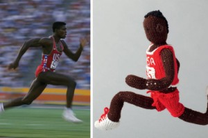 "Carl Lewis was an Olympic and World Championship track star who won 10 Olympic medals and 10 World Championship medals in his career. Also set some world records.The IAAF voted him as ""World Athlete of the Century."""