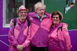 Yes, I do like pink and purple a lot. But no, I don't think Barbie's windbreaker has a place at the Olympics though.