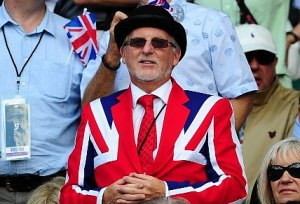 As long as it's in a Union Jack suit, that is. Otherwise, it wouldn't be proper.