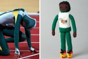Cathy Freeman was an Australian Olympic sprinter and said to be the 6th fastest woman in the world. She's also one of the most famous people of Australian aboriginal descent. Lit the Olympic flame at the 2000 Olympics in Sydney, Australia.
