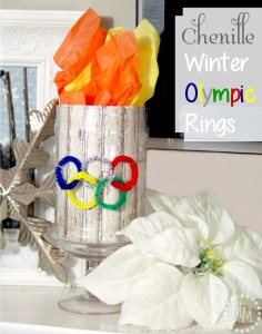 This was made for the Winter Olympics. But like some of the other torches, uses tissue paper for flames.