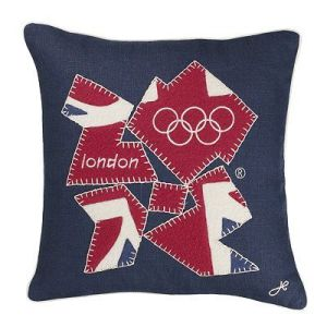 This one has the London Olympic logo in a Union Jack pattern. So creative.