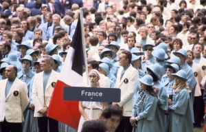 France, just because the Madeline books make great children's literature, doesn't mean your Olympic uniforms have to be designed from them. And in baby blue?